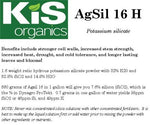 Agsil 16 H (Potassium Silicate) - FREE SHIPPING
