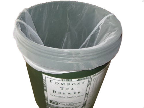 Re-usable Mesh Bag for a 5-gallon bucket - FREE SHIPPING