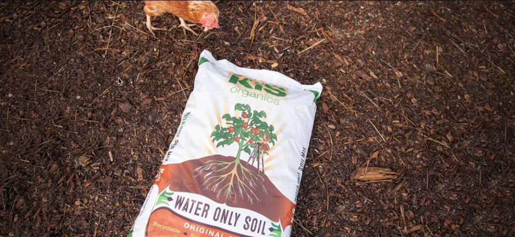 Organic soil with lifetime benefits