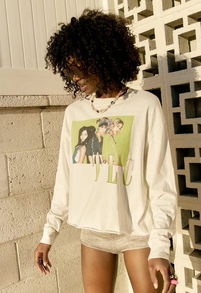 TLC Ain't 2 Proud Long Sleeve Crop
