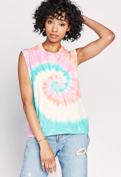 Tie Dye Rocker Muscle In Azalea