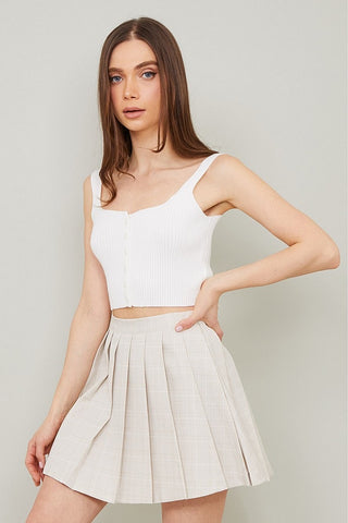 Tee Time Skirt Tan