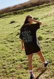 Pink Floyd Wish You Were Here Oversized T-Shirt Dress