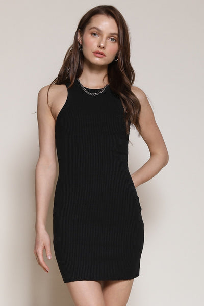 It's Not Just A Mini Dress - Black