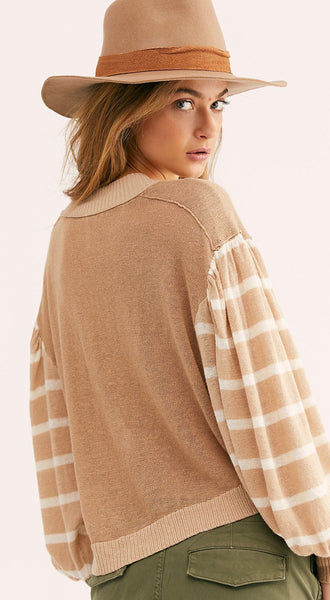 Between The Lines Pullover