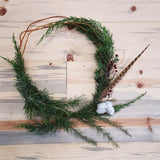 Winter Wreaths w/ Ladybird Poppy. Tuesday, December 12th. 7pm.