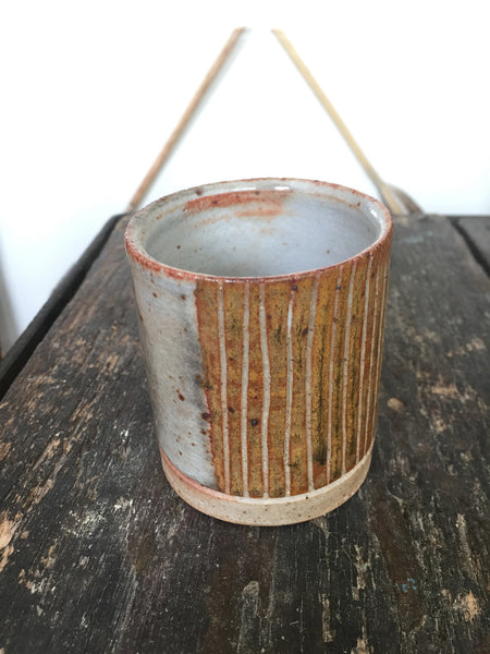 Rust Whiskey Tumbler Veak Ceramics
