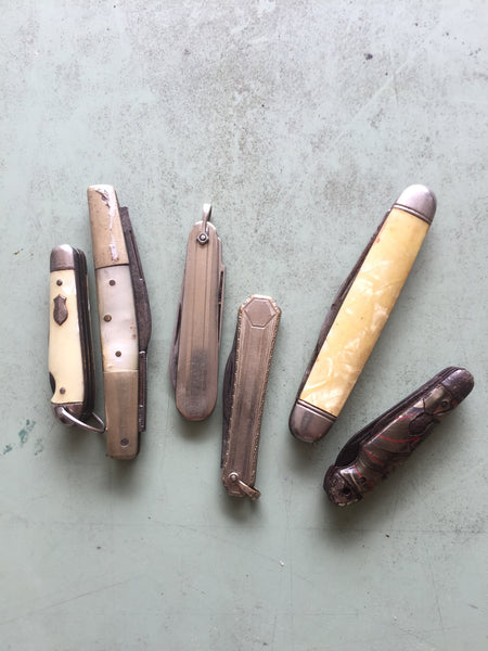 Vintage Pocket Knife-Assorted