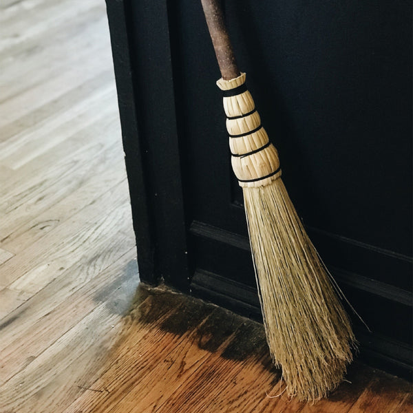 Broom Making with Justin Burton. Sunday, October 21st. 1-4pm.