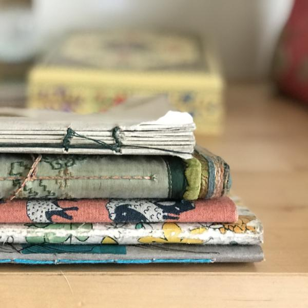Bookbinding for Beginners with Deirdre Brooks. Wednesday, March 14th. 6:30-8:30pm.
