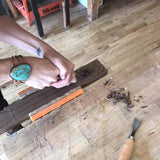 Spoon Carving w/ Delanie Holton-Fessler. Sunday October 29th. 2-5pm.