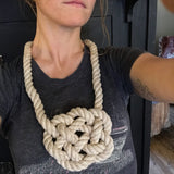 SOLD OUT>Coffee + Craft: Modern Knot Tying @ The Dairy Block. Sunday, February 25th. 10:30-noon.