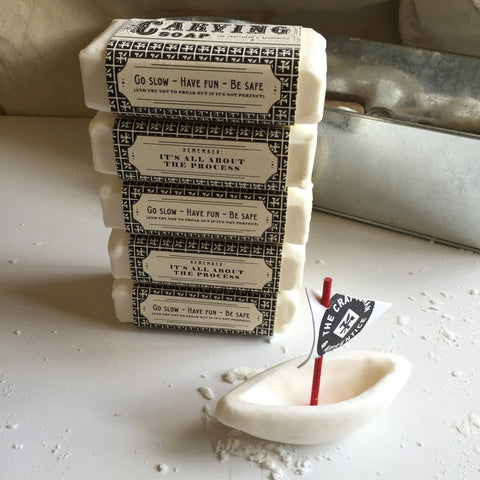 5 Pack of Carving Soap