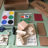 Shoe Box Crafts: Kids Shop Box