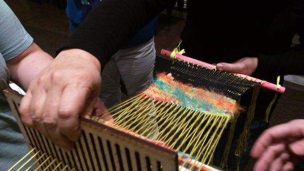 Backstrap Loom Weaving + Micheladas with Steven Frost. Sunday, April 15th 10-1pm.