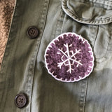 Workshop Wednesdays: Hand-Stitched Patches. January 15, 6:30-8:30pm.