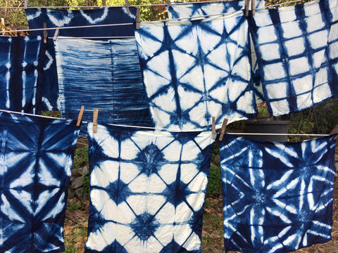 SOLD OUT~Shibori and Indigo Workshop with Nora Grant. Friday, February 9th, 6:00-9:00pm.