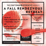 Fall Rendezvous Retreat at Amigo Motor Lodge. Sept. 15th-17th.