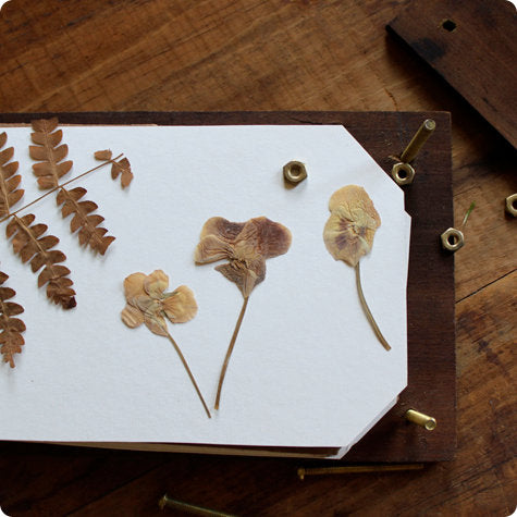 Friday Night Craft Social: Wooden Flower Press. March 23rd. 6:30-8:30pm