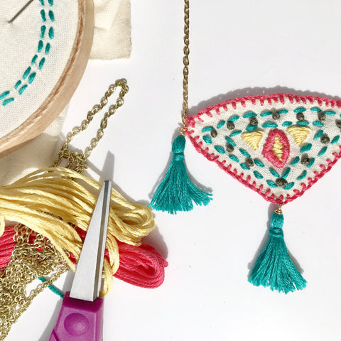 Latin-American Inspired Embroidery w/Serena Sanchez. Thursday May 18th. 6:30-8:30pm.