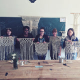 Macramé Wall Hangings w/ Amie Phillips. Sunday, October 20th, 10am-1pm.