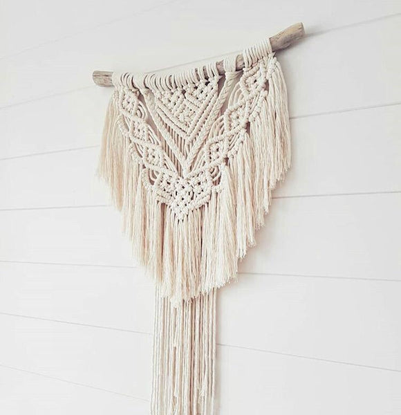 Macrame Mini Series w/ Amie Phillips. Wednesdays September 12th, 19th, 26th 6:30-8:30pm.