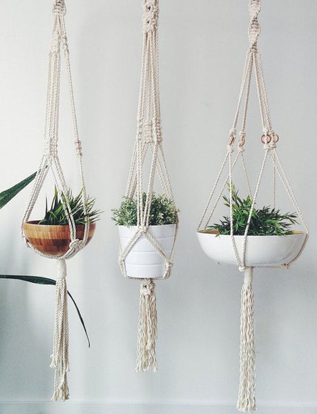 Macrame Plant Hangers w/ Amie Phillips. Sunday, February 23rd, 10am-1pm.