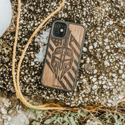 real wood gladiator iPhone Case