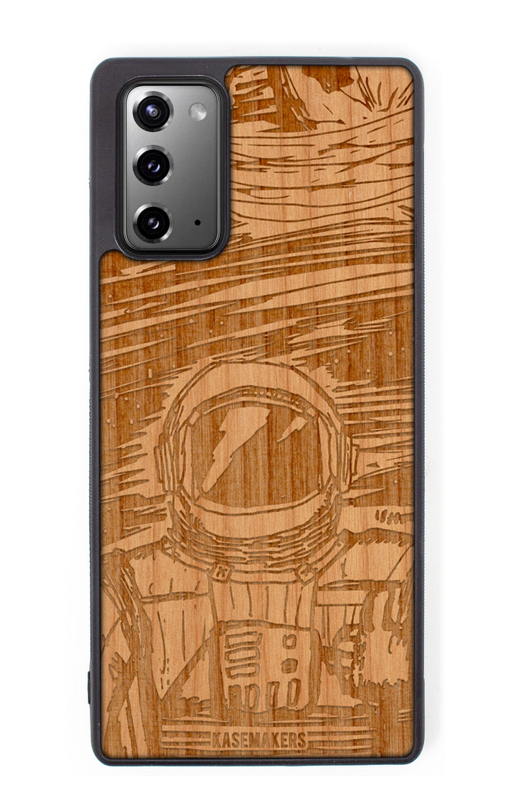 Real wood Spaceman Samsung Phone Case