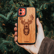 Real wood Deer iPhone Case