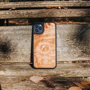 Real wood Spaceman iPhone Case