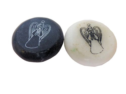 worry angel stone