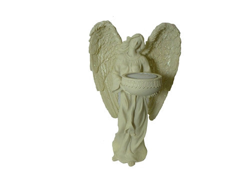Angel Statue with Tea Light Holder