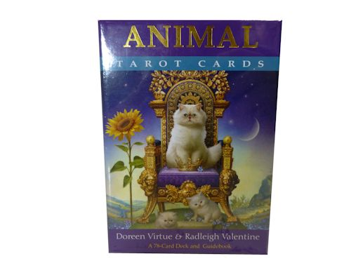 animal tarot cards doreen virtue and radleigh valentine