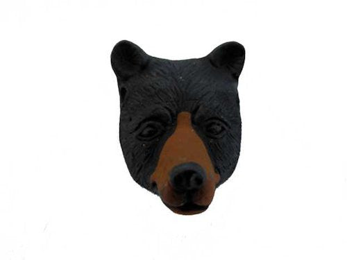 Black Bear Head Spirit Pendant