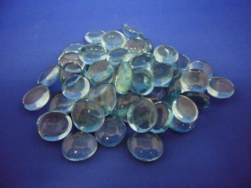 Aqua Glass Nuggets