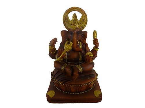 Brown and Gold Ganesh