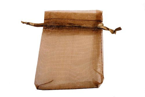 Brown Organza Bag
