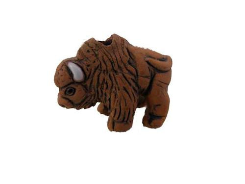 Brown Buffalo Spirit Pendant