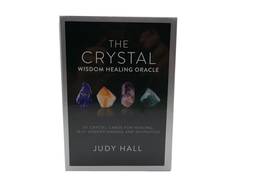 Crystal Wisdom Healing Oracle Cards by Judy Hall
