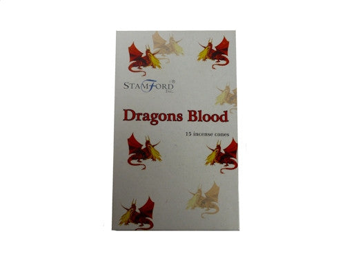 Dragons Blood Dhoop Cones