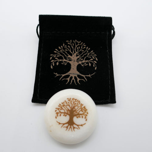 tree of life agate crystal front