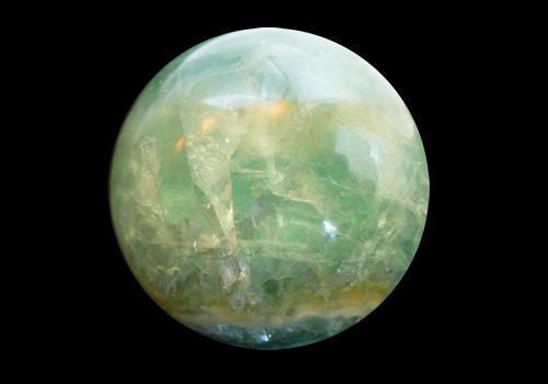 Fluorite Crystal Ball approx 500g