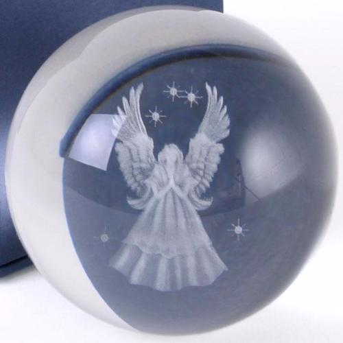 Guardian Angel  Glass Sphere