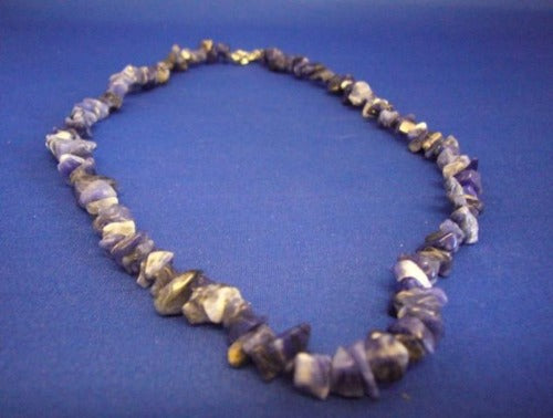 Lapis Chip Stone Necklace