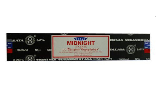 Midnight Satya Nag Champa Incense
