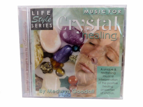 Crystal Healing CD by Medwyn Goodall