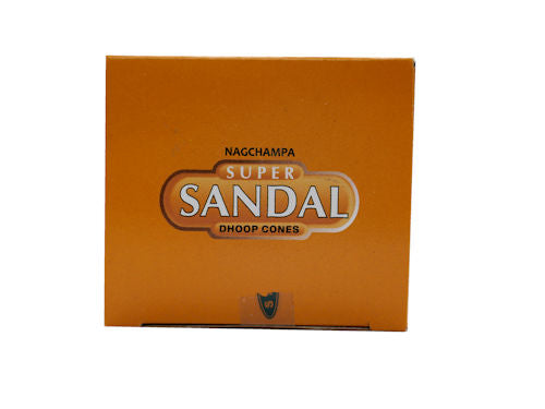 Super Sandal Dhoop Cones
