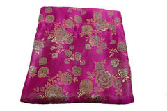 Chinese Drawstring Bag Pink Satin