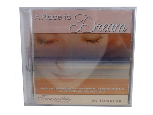 A Place to Dream CD  by Llewellyn - Clarity of Sight